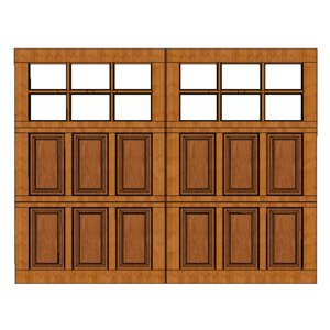 Model 105  sc 1 th 225 & Amana Doors | Premier Wooden Garage Door Manufacturer in the US